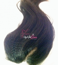 Caribbean Straight Silk Closure