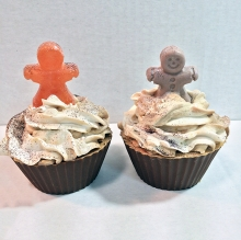 Gingerbread Cupcake Soap