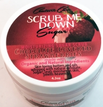 Scrub Me Down! Sugar Chocolate Covered Strawberrries