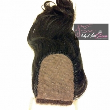 Virgin Filipino Straight Silk Closure